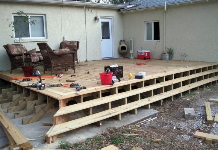 Fantastic Building Deck Steps With Stringers Picture 088