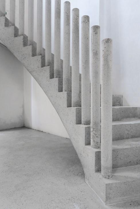 Fantastic Concrete Stair Railing Picture 224