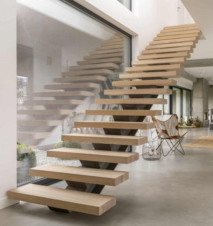 Fantastic Custom Wood Stairs Image 600