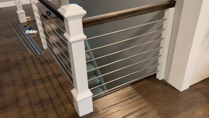 Fantastic Diy Horizontal Stair Railing Image 974