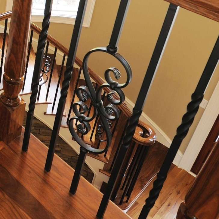 Fantastic Iron Balusters Home Depot Photo 064