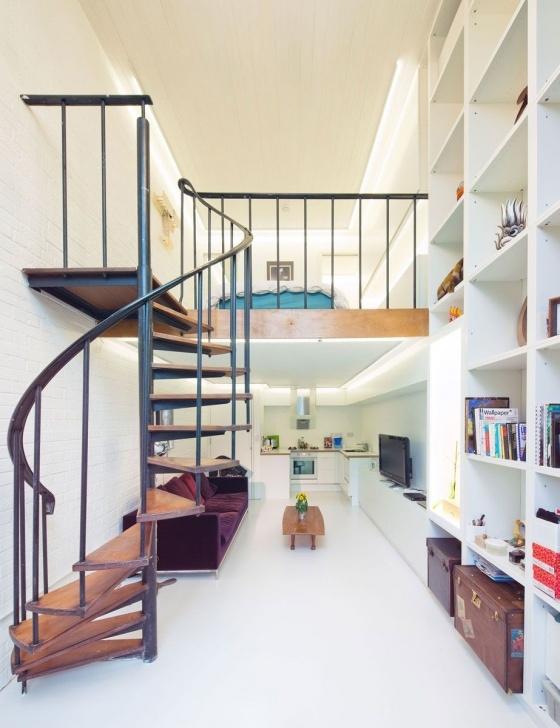 Fantastic Loft Spiral Staircase Photo 315