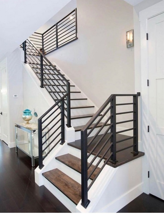 Fantastic Modern Metal Stair Railing Photo 820