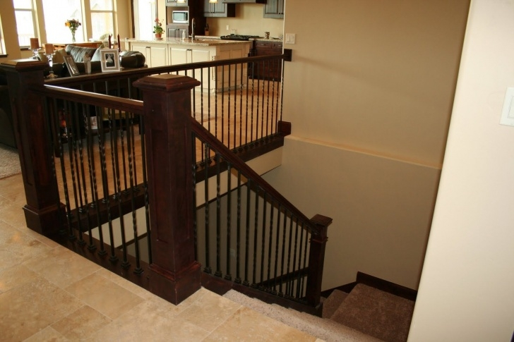 Fantastic Open Concept With Basement Stairs In Middle Of House Photo 873
