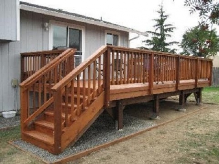Fantastic Outdoor Deck Stairs Image 746