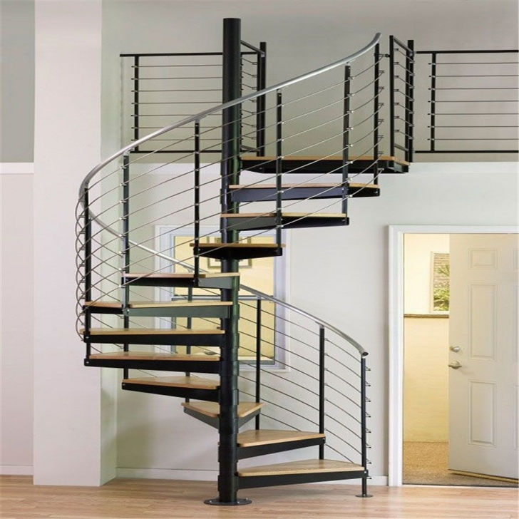 Fantastic Spiral Staircase Railing Photo 608