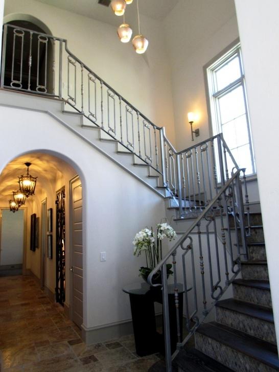 Fantastic Staircase Balcony Design Photo 285