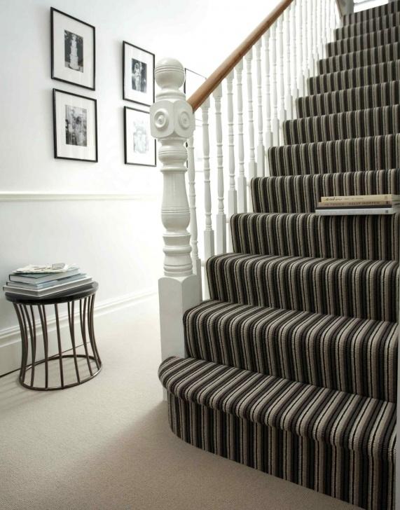 Fantastic Stripy Stairs Carpet Photo 281