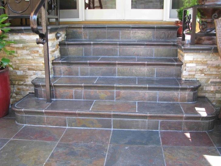 Fantastic Tiling Outdoor Steps Image 039