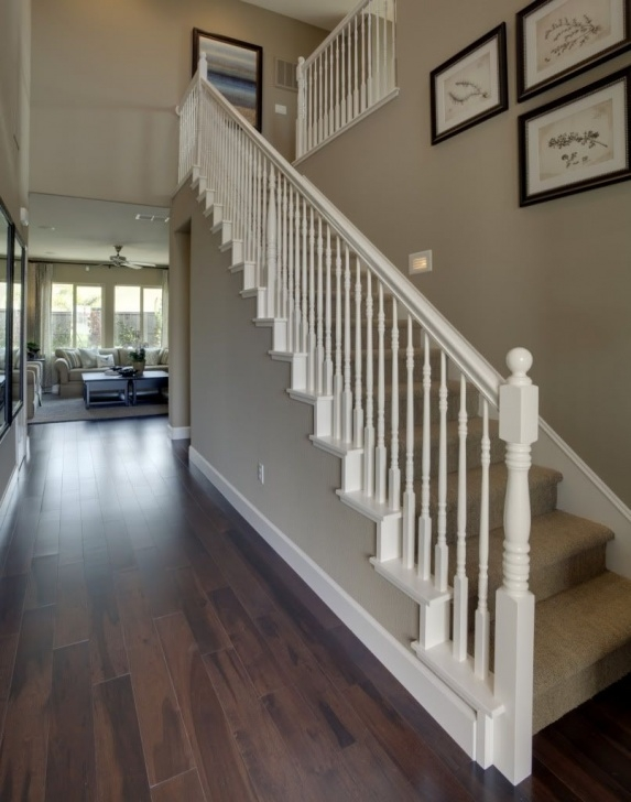 Fantastic White Stair Railing Picture 460