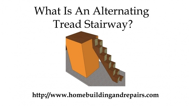 Fascinating Alternating Tread Stair Plans Picture 054