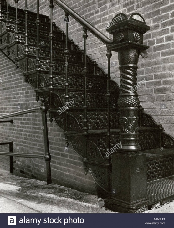 Fascinating Cast Iron Staircase Image 856