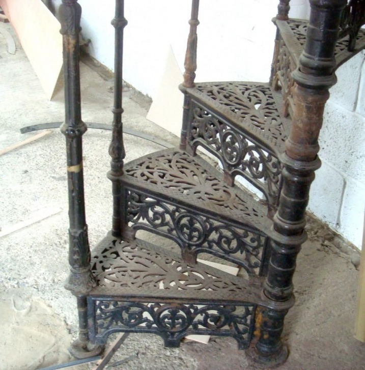 Fascinating Cast Iron Staircase Photo 876