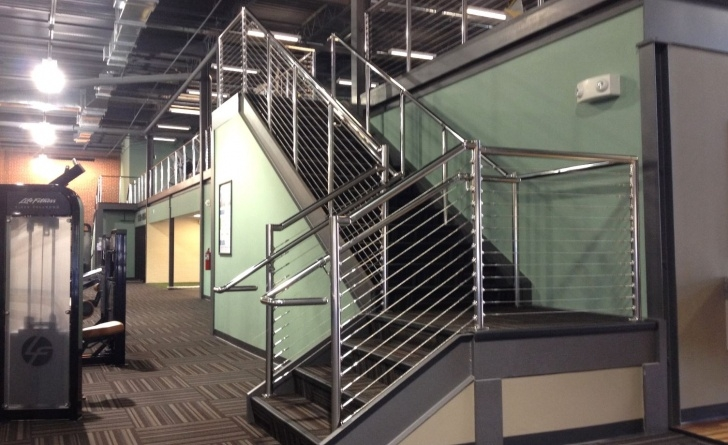 Fascinating Commercial Stair Railing Photo 873