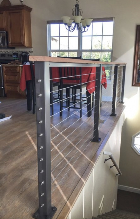 Fascinating Diy Interior Cable Railing Photo 175