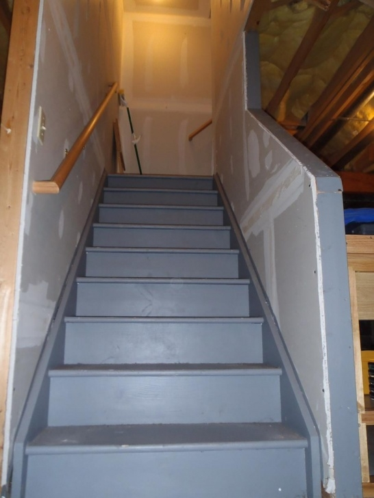 Fascinating Finishing Basement Stairs Photo 549