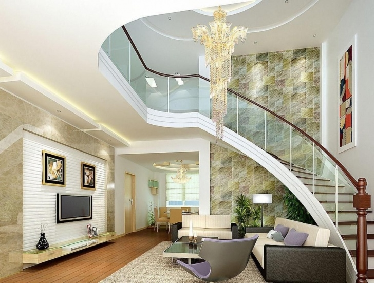Fascinating Interior Design Of Living Room With Stairs Picture 285