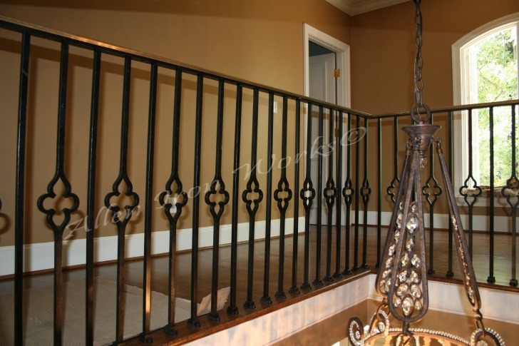 Fascinating Interior Iron Railing Picture 806