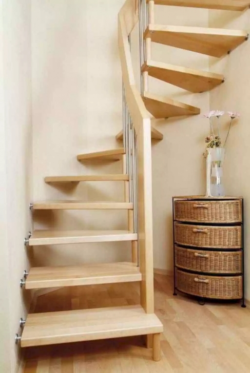 Fascinating Loft Stairs For Small Spaces Photo 195