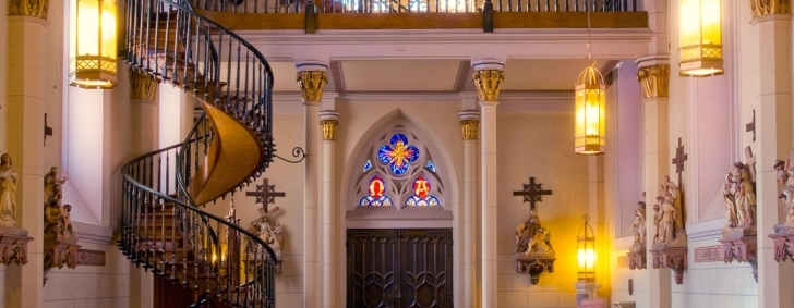 Fascinating Loretto Chapel Staircase Picture 824