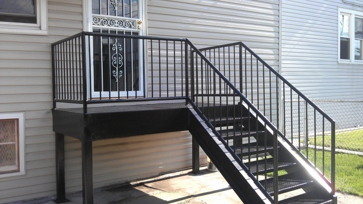 Fascinating Metal Steps Outdoor Image 701