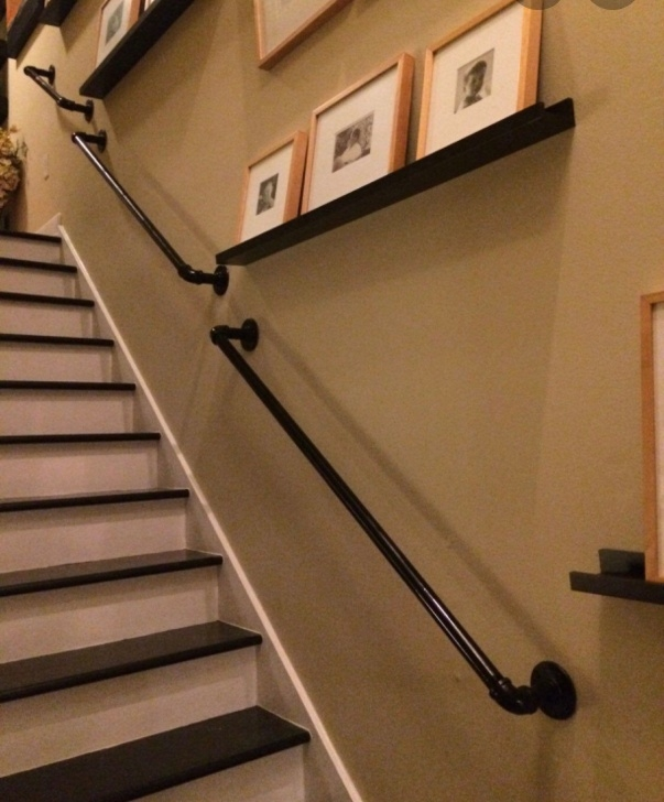 Fascinating Pipe Stair Rail Photo 996
