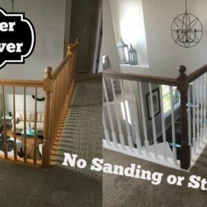 Refinish Stair Railing