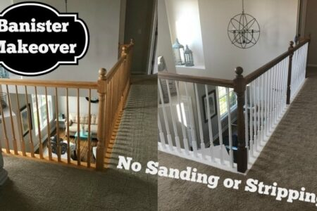 Refinish Stair Railing