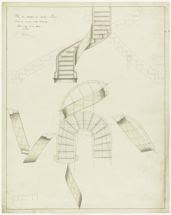 Fascinating Spiral Staircase Plans Photo 115