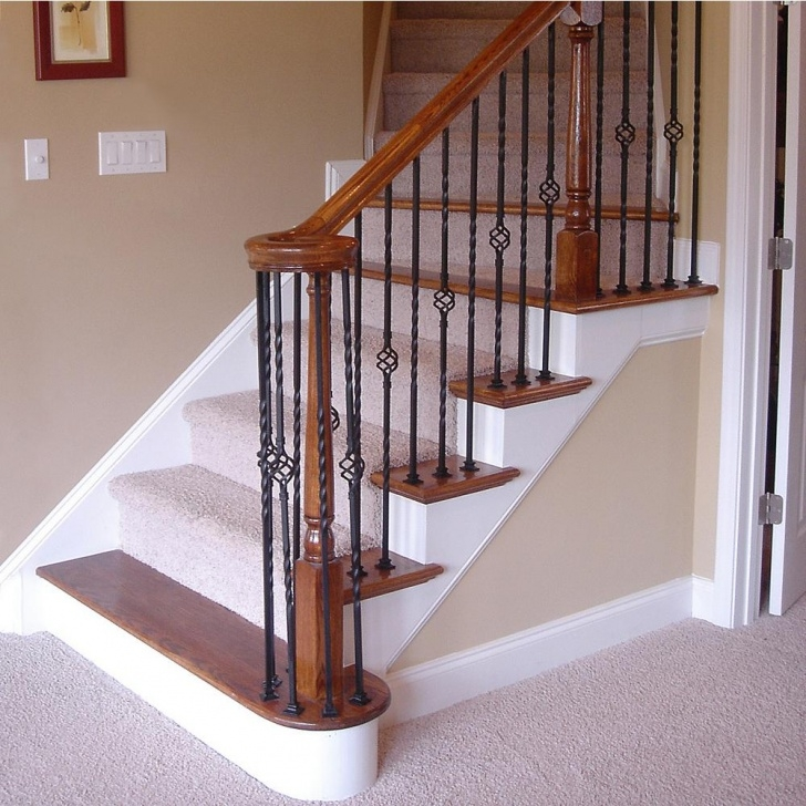 Fascinating Stair Railing Posts Photo 085