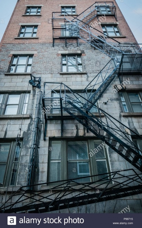 Fascinating Stairs On Outside Of Building Image 169