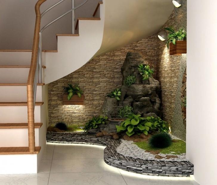 Fascinating Under Stair Garden Design Picture 718