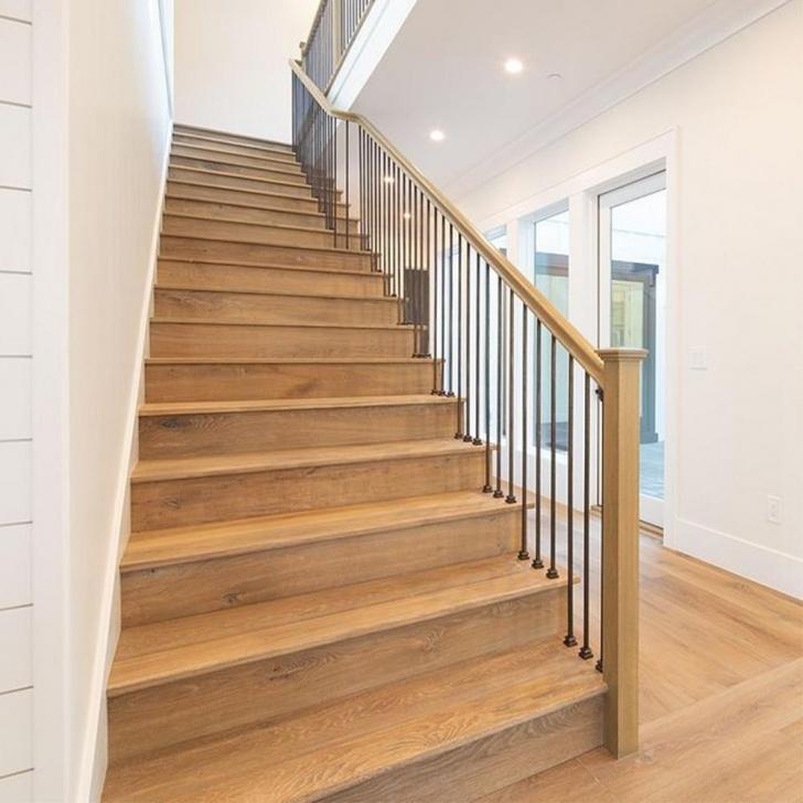 Fascinating White Oak Stair Treads Photo 900