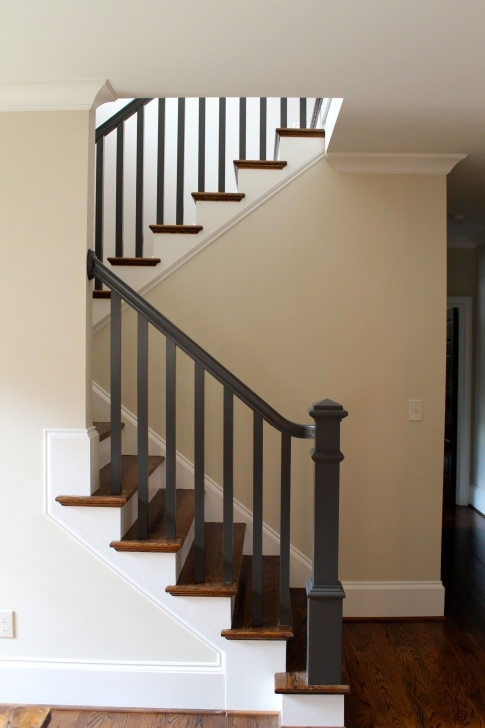 Gallery Of Black Stair Railing Photo 375