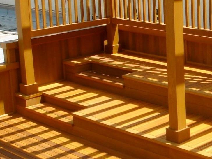 Gallery Of Cedar Stair Treads Image 917