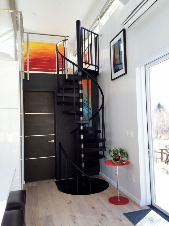 Gallery Of Compact Spiral Staircase Picture 747