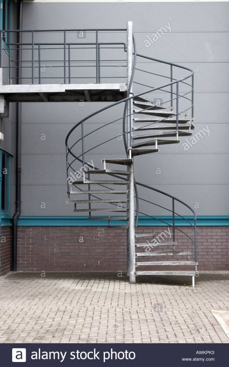 Gallery Of Galvanised Spiral Staircase Picture 849