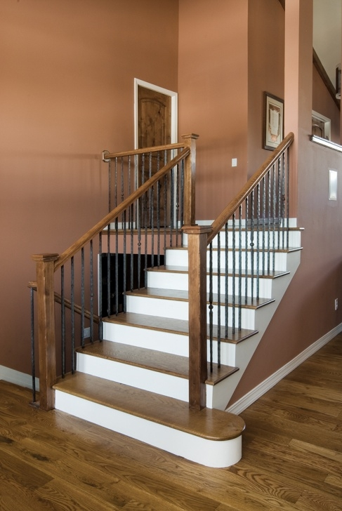 Gallery Of Handrails For Stairs Interior Image 771