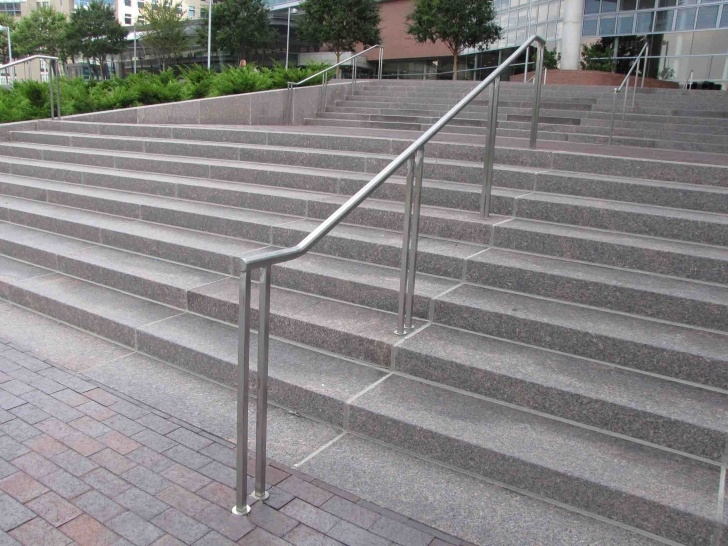 Gallery Of Metal Handrails For Outdoor Steps Image 738