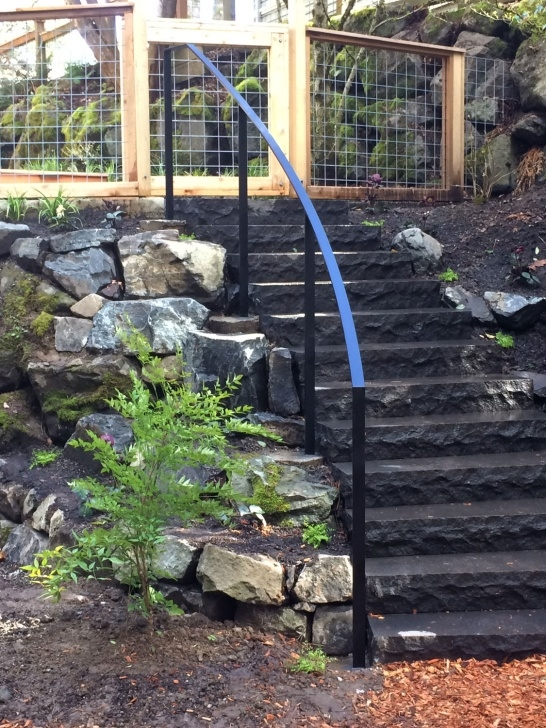Gallery Of Metal Handrails For Outside Steps Image 669