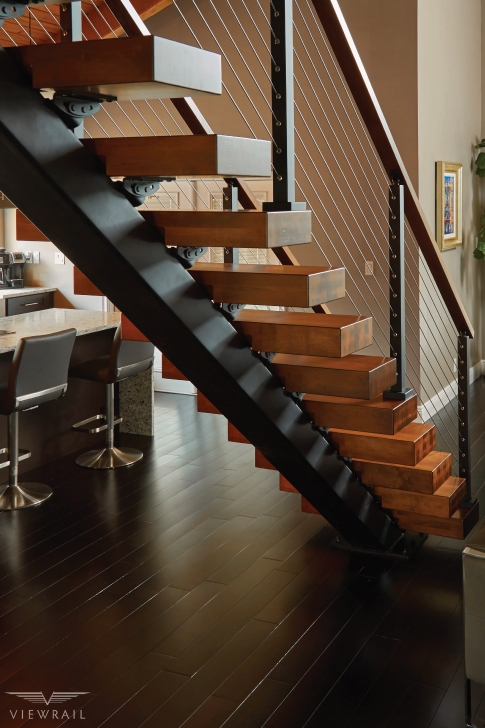 Gallery Of Mid Century Modern Stairs Photo 081