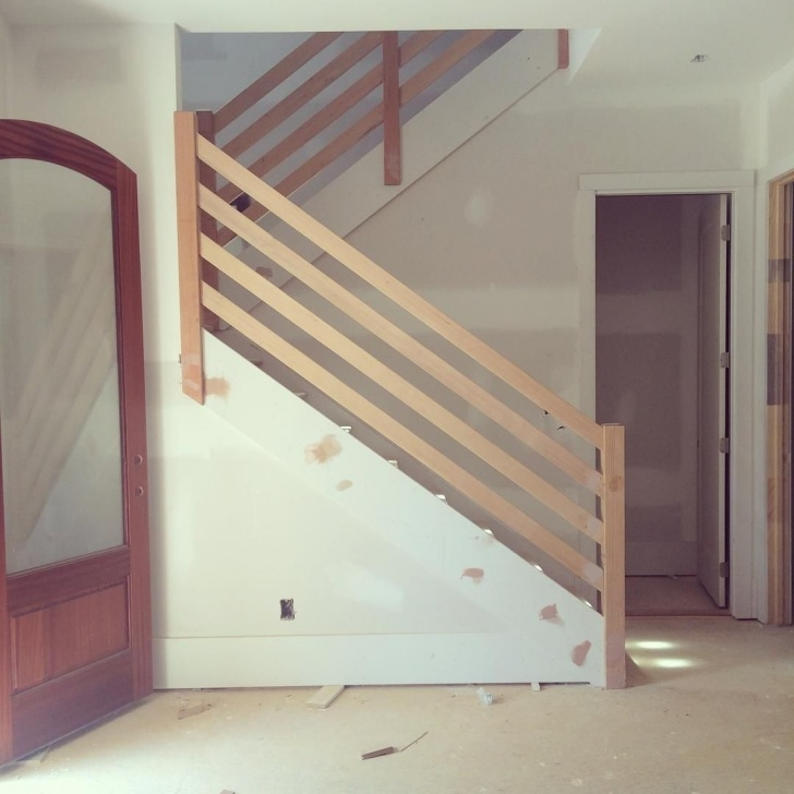 Gallery Of Modern Wood Stair Railing Picture 005