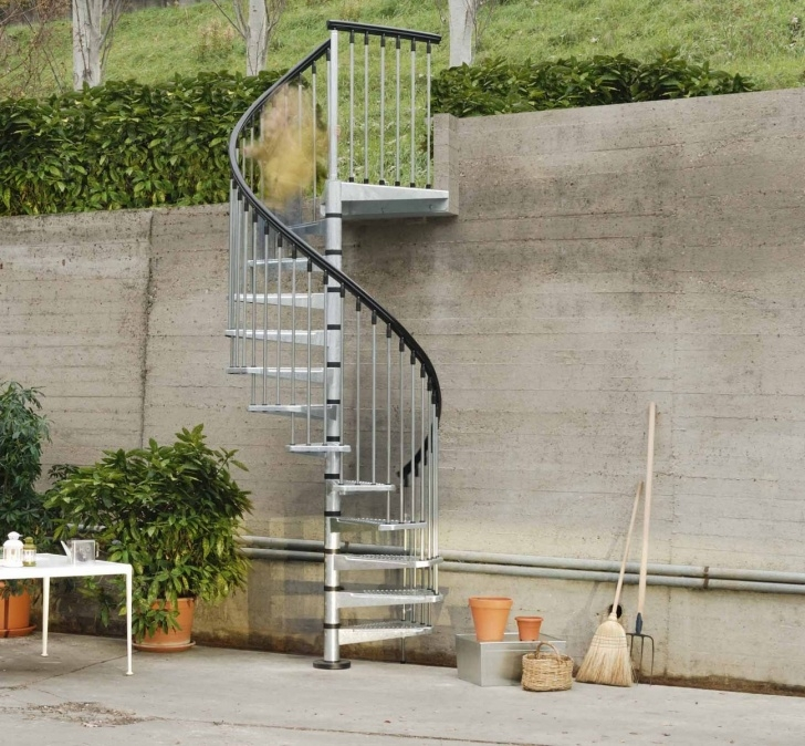 Gallery Of Outdoor Spiral Staircase Picture 062