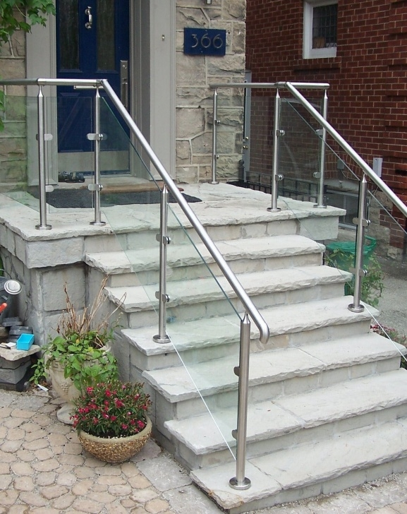 Gallery Of Outdoor Stair Handrail Photo 060