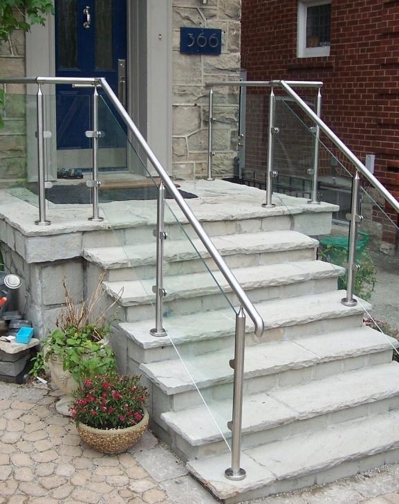 Gallery Of Outdoor Stair Railings Photo 226