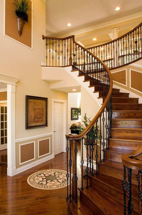 Gallery Of Round Staircase Designs Interior Image 665