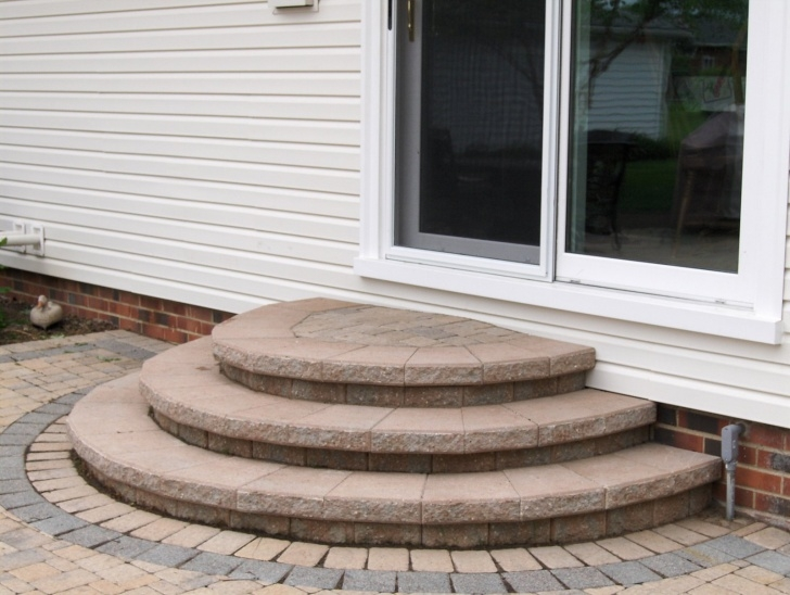 Gallery Of Rounded Patio Steps Photo 611