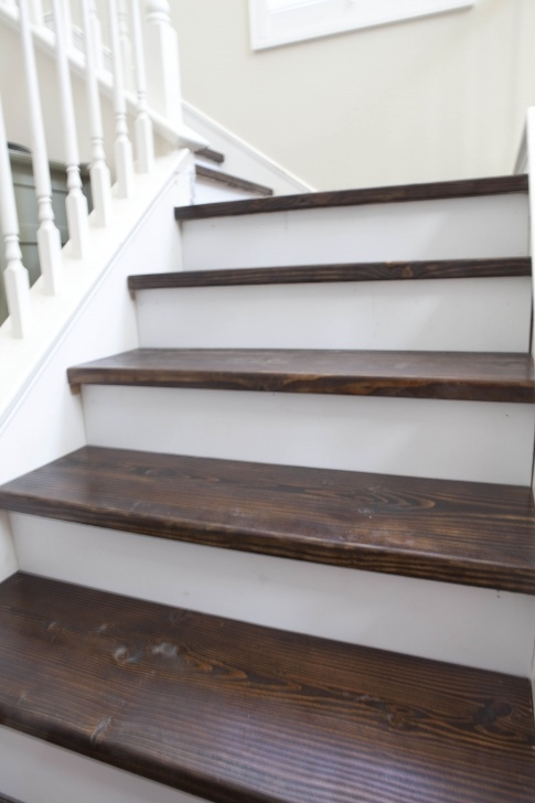 Gallery Of Sanding And Staining Stairs Picture 300