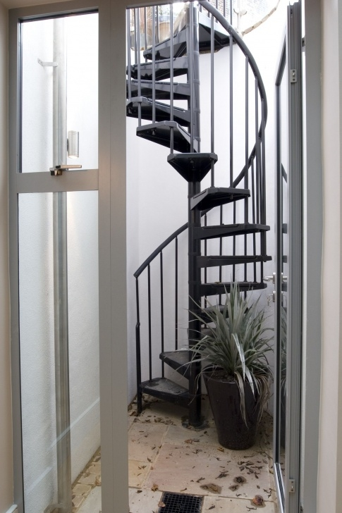 Gallery Of Spiral Staircase To Basement Photo 456