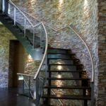 Gallery Of Stair Outside Wall Design Photo 888